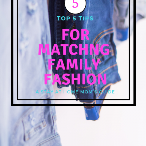 What to wear | 5 Tips for Matching Family Fashion