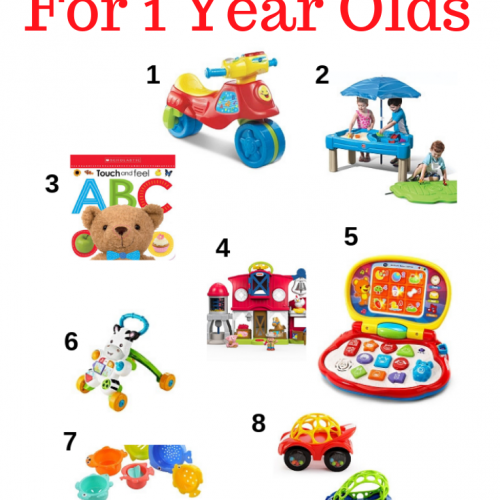 10 Ultimate Gift Ideas for 1 Year Olds