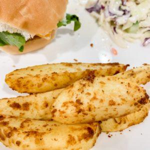 Crispy Oven Baked Potato Wedges