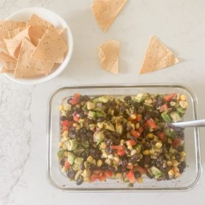 Easy Cowboy Caviar Dip