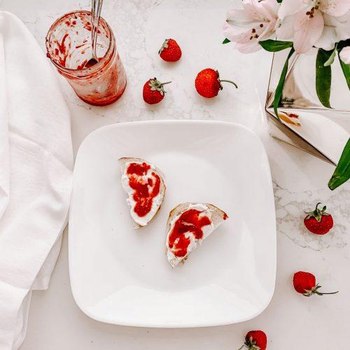 Easy Strawberry Chia Jam