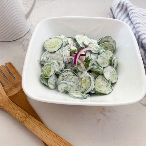 Perfect Healthy German Cucumber Salad