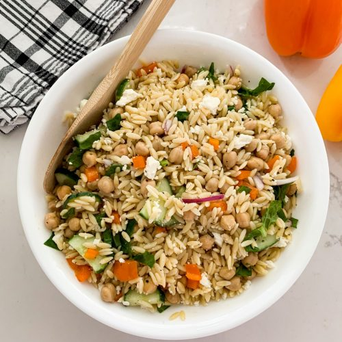 fresh Orzo Pasta Salad