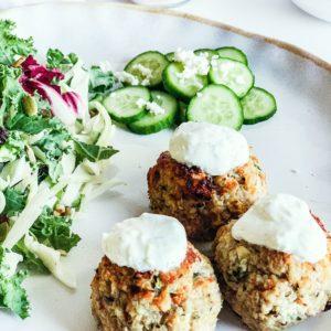 Delicious and Healthy Greek Turkey Meatballs