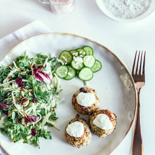 Delicious and Healthy Greek turkey meatballs (Gluten-free)