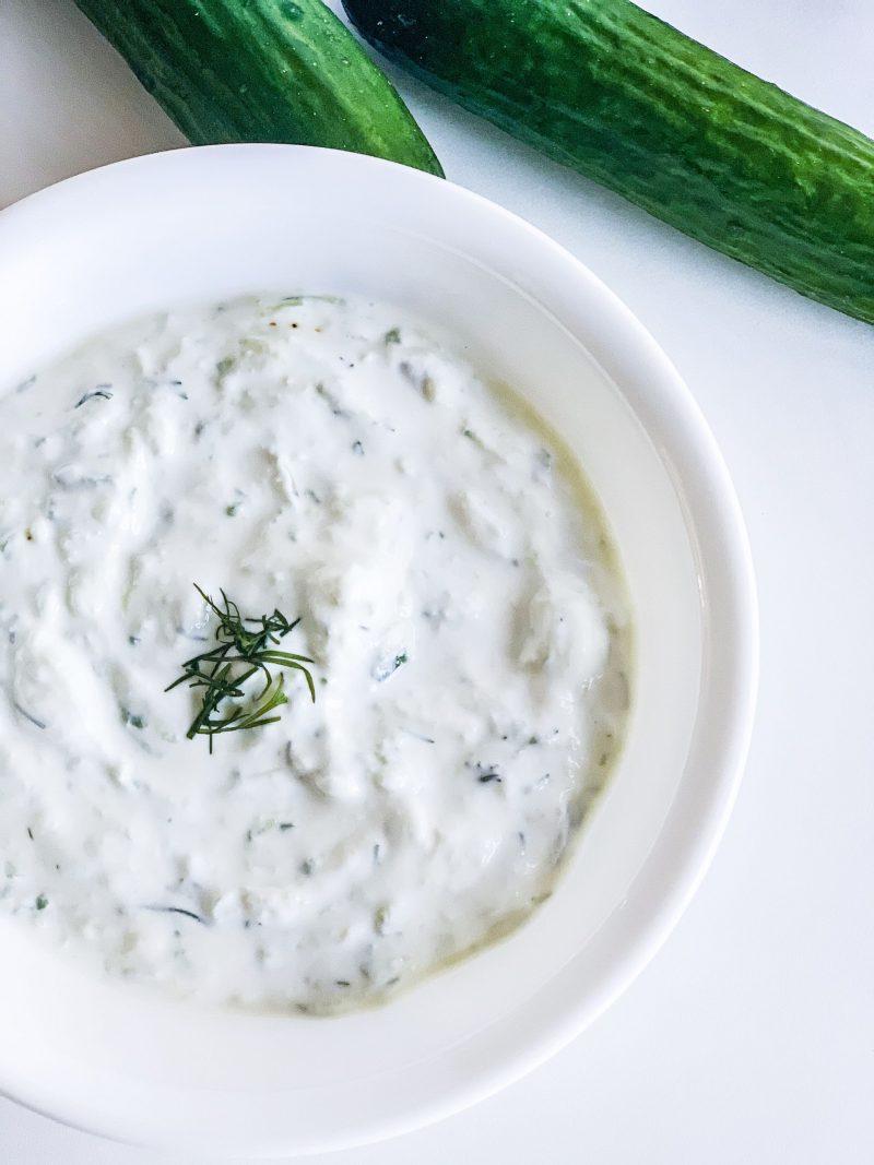 Fresh Homemade Tzatziki