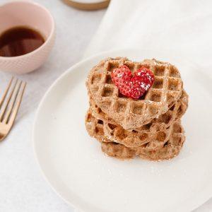 Healthy Spelt Waffles