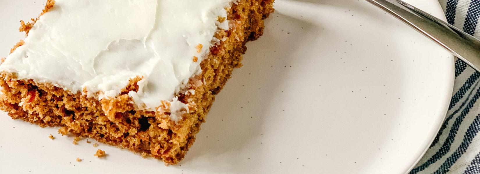 the best carrot cake recipe {GF, DF}